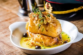 Our Signature Dish: Oven-baked salt cod
